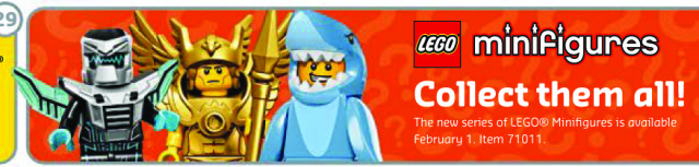 LEGO Minifigures Series 15 February 2016 Release Date
